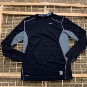 Nike pro combat fit boys long sleeve
